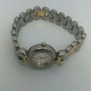 Milan Two-Tone Diamond Quartz  Women's Watch